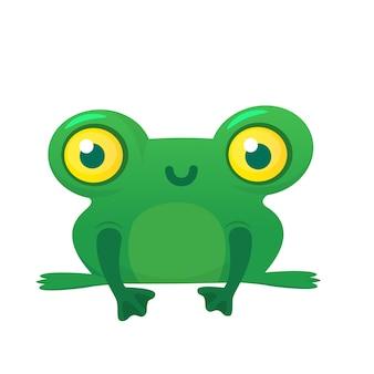 Cartoon frosch