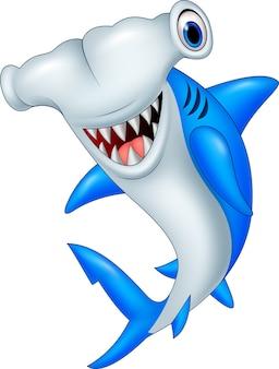 Cartoon hammerhai