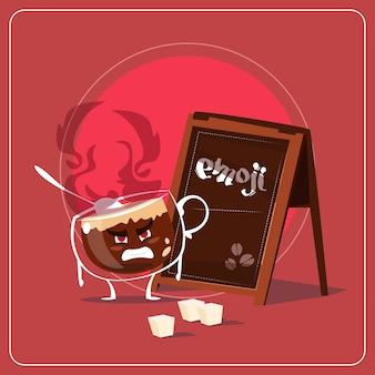 Cartoon kaffeetasse