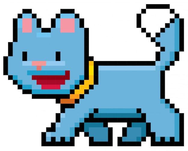 Cartoon-katzen-pixel-design