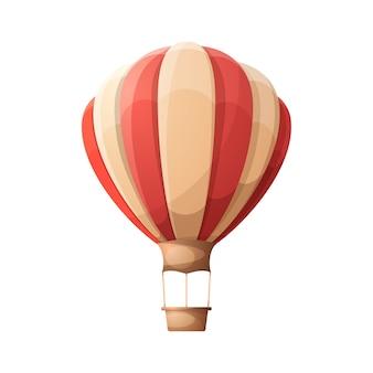 Cartoon luftballon.