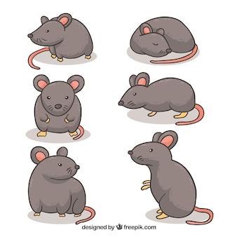 Cartoon mäuse sammlung