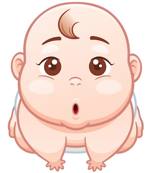 Cartoon nettes baby