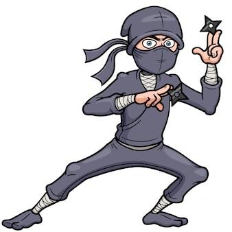 Cartoon-ninja