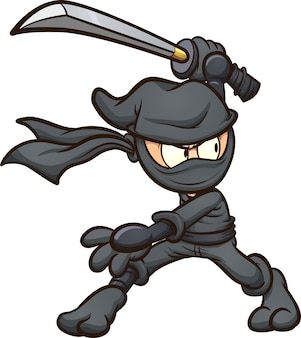 Cartoon-ninja