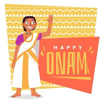 Cartoon-onam-illustration