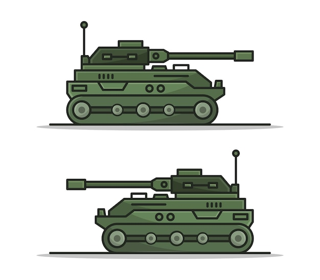 Cartoon panzer