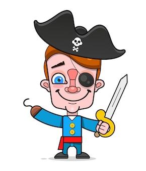 Cartoon-pirat