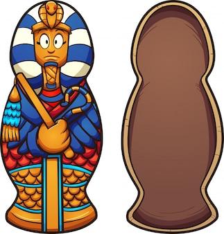 Cartoon-sarkophag