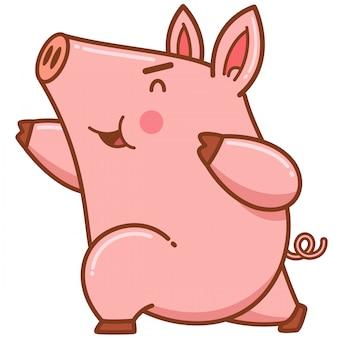 Cartoon schwein