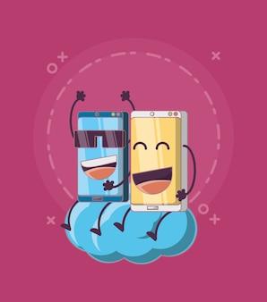Cartoon-smartphone-design