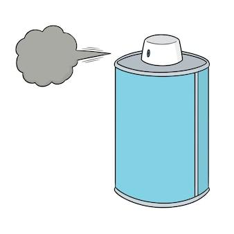 Cartoon-spraydose