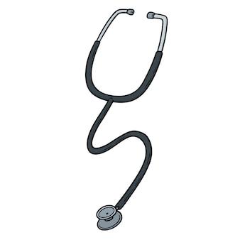 Cartoon-stethoskop