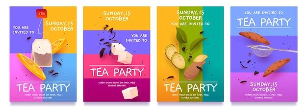 Cartoon-teezeit-flyer