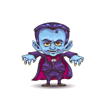 Cartoon-vampir