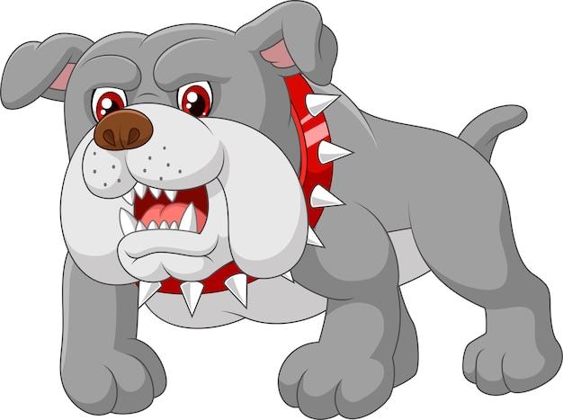 Cartoon wachhundehaus