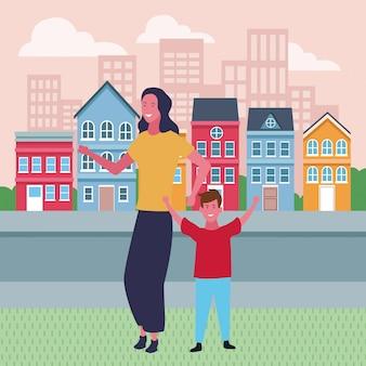 Cartoons für familien und kinder