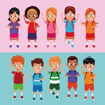 Cartoons für schüler und schülerinnen