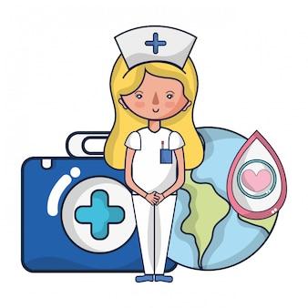 Cartoons zur Blutspendenaktion