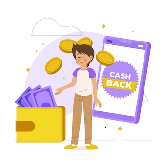 Cashback-einkaufsangebot