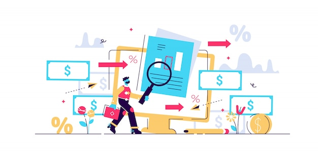 Cashflow-vektor-illustration.