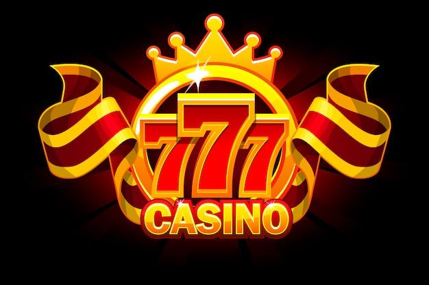 Casino banner und band.