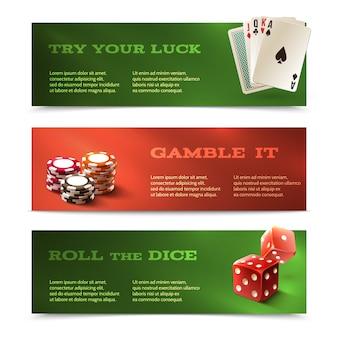 Casino horizontale banner