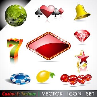 Casino-ikonen-sammlung