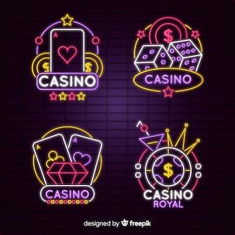 Casino leuchtreklame sammlung