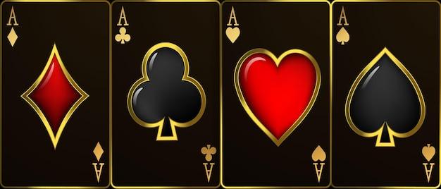 Casino-luxus-vip-einladung mit konfetti-feier-party glücksspiel-banner-hintergrund.