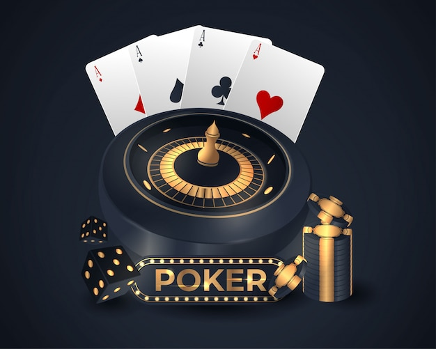 Casino poker kartendesign