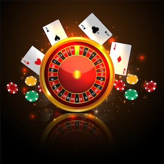 Casino roulette mit chips