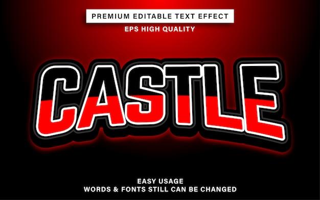 Castle esports texteffekt