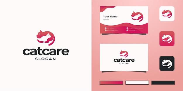 Cat care negativraum-logo