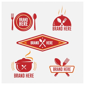 Catering-logo-emblem-set