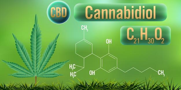 Cbd (cannabidiol) der formel