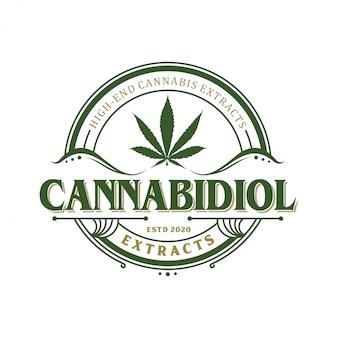 Cbd-logo für das logo der rechtsbehandlung