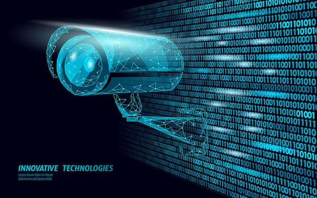 Cctv-datenschutzüberwachungs-mobilkamera