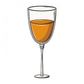 Champagnerglas tasse