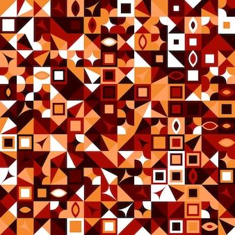 Chaotischer mosaikmusterhintergrund