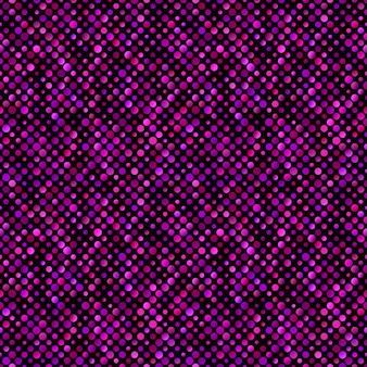 Chaotischer punktmusterhintergrund - abstrakte vektorgraphik