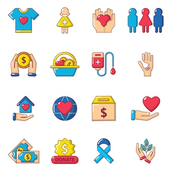 Charity-symbole gesetzt