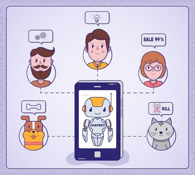 Chat-bot gibt ratschläge für die ganze familie