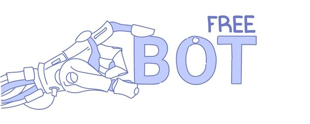 Chat bot kostenlose roboter virtuelle hilfe website mobile anwendungen künstliche intelligenz