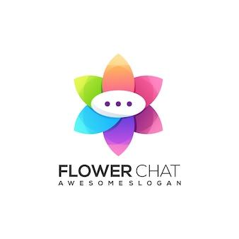 Chat logo bunte zusammenfassung