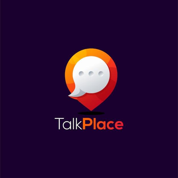 Chat-logo-design weinflaschen-design. illustration