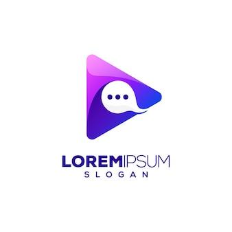 Chat-logo spielen