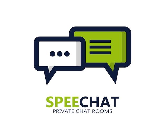 Chat-symbol oder logo