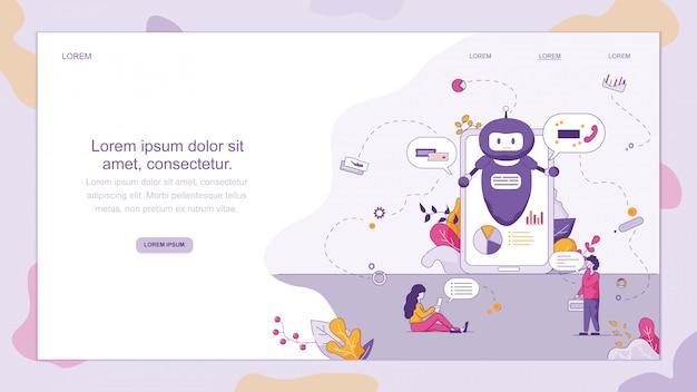 Chat-unterstützung smart chatbot
