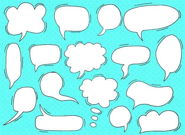 Chatbox-designillustration lokalisiert auf hintergrund